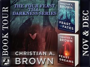 The Four Feast Till Darkness Button 300 x 225