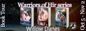 Warriors of Hir series Banner 851 x 315