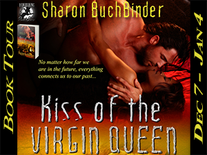 Kiss of the Virgin Queen Button 300 x 225