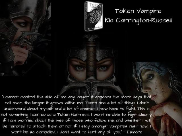 Token Huntress By Kia Carrington Russell Zennys Awesome Book Reviews